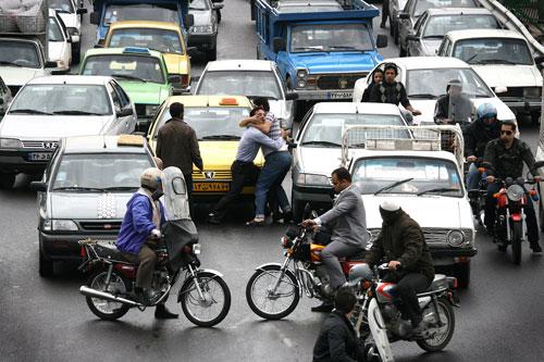 ترافیک تهران و هرج و مرج