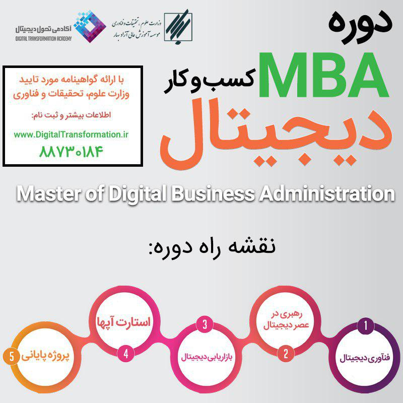 MBA کسب و کارهای دیجیتال